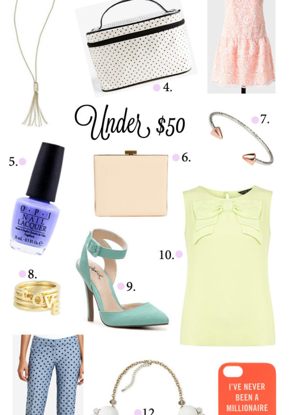 Fab Finds Under $50