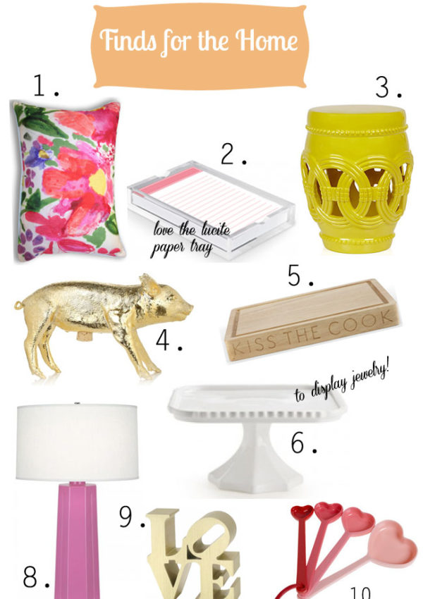 Fun, Frugal, & Fab Finds for the Home