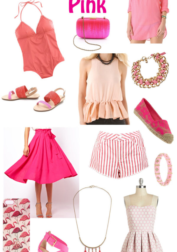 Color Crush: Shades of Pink