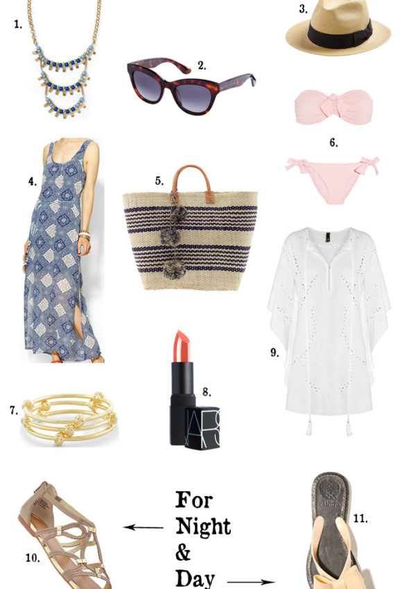 Beach Weekend Essentials