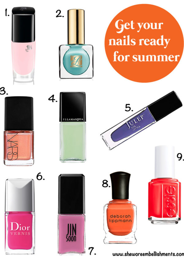 Summer Nail Polish Picks