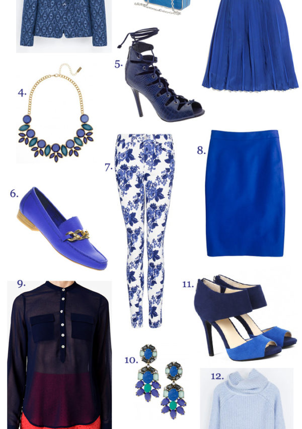 The Color of Fall: Shades of Blue