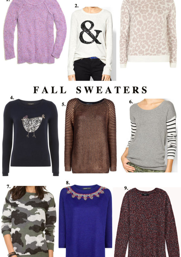 Fall Sweater Guide
