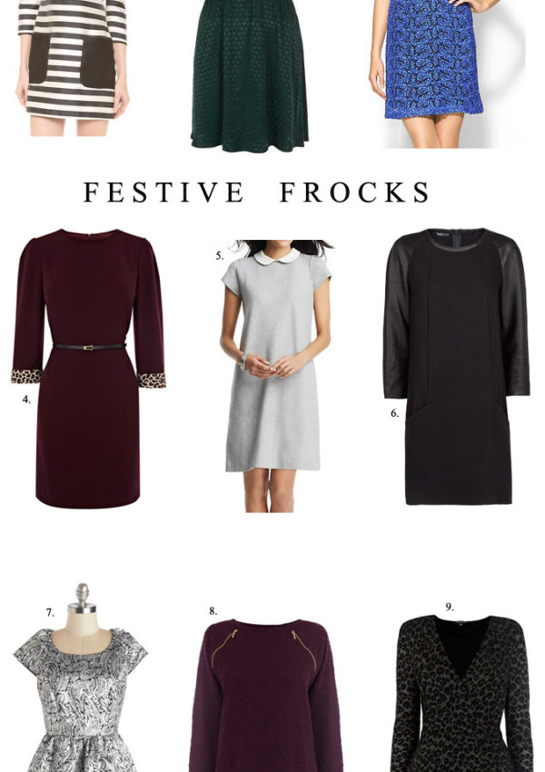 Thanksgiving-Ready Frocks