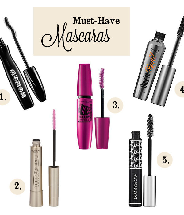Must-Have Mascaras