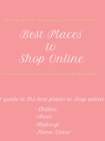 My Favorite Places to Shop Online